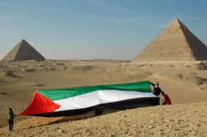 """""""Je n'ai pas été à Gaza mais j'ai vu un drapeau palestinien"""""""
