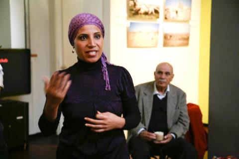 "Amal Elsana-Alh'jooj, intervenante dans ""La Palestine au Féminin"""