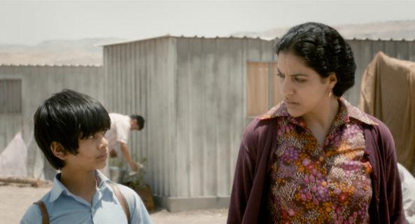 Mahmoud Asfa et Ruba Blal dans les rôles de Tarek et Ghaydaa.
