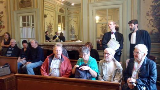 A l'audience du Conseil d'Etat