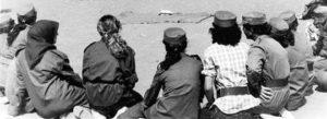 Les femmes rejoignaient les mouvements révolutionnaires