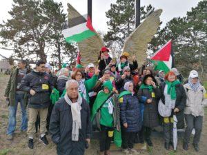 Une délégation belge a participé au rassemblement devant la Cour pénale internationale à La Haye