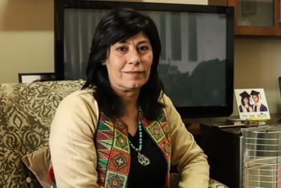 Députée palestinienne FPLP