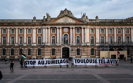 Stop au jumelage entre Toulouse et Tel- Aviv