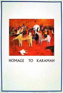 Hommage à Karameh (Jordanie)