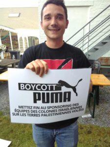 Puma sponsorise l'Association israélienne de football (IFA) : boycott