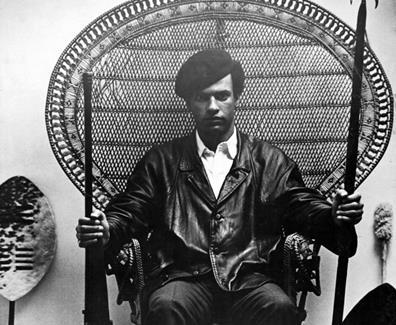 Hommage de la révolution palestinienne à Huey P. Newton, leader des Black Panthers