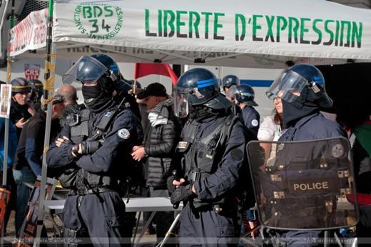 Rassemblement à Montpellier
