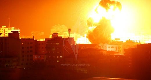 Bombardements intensifs sur Gaza
