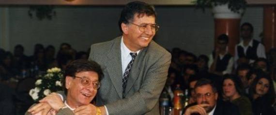 Mahmoud Darwich et Samih Al-Qassim
