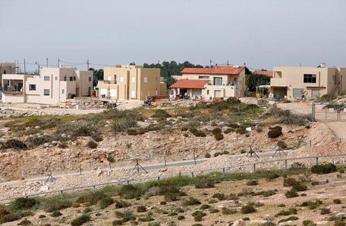 Epuration ethnique : la colonie israélienne illégale de Sansana, au sud de la ville cisjordanienne de Hébron