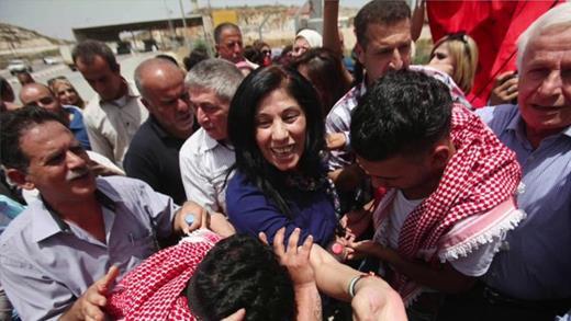 Khalida Jarrar, symbole de la résistance populaire