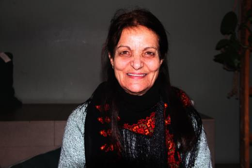Rasmea Odeh à Berlin. Photo : Dareen Tatour