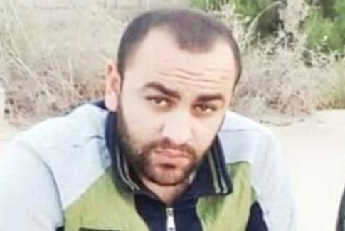 Le corps de Mohammed al-Naem (27 ans) a été traîné par un bulldozer de l'armée israélienne à proximité de la clôture de Gaza. (Photo : via Social Media)