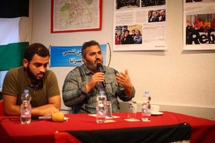 Mohammed Khateb et Khaled Barakat