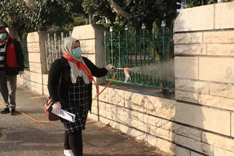 57 cas covid-19 confirmés en Cisjordanie occupée, deux dans la bande de Gaza