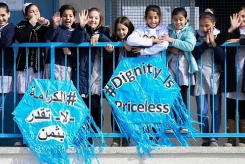 L'UNRWA se charge de l'éducation des réfugiés palestiniens en Jordanie, au Liban, en Syrie, à Gaza et en Cisjordanie. (Photo : UNRWA)