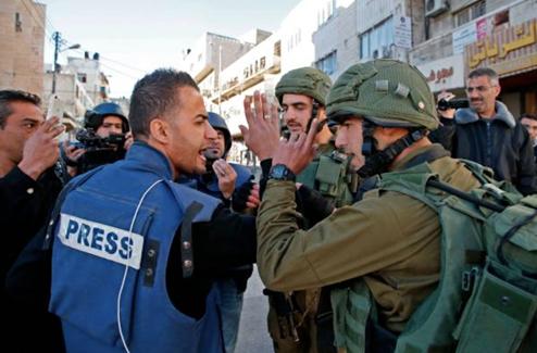 Israël détient 15 journalistes