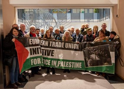 Réseau syndical européen pour la justice en Palestine et un travail décent pour les travailleurs