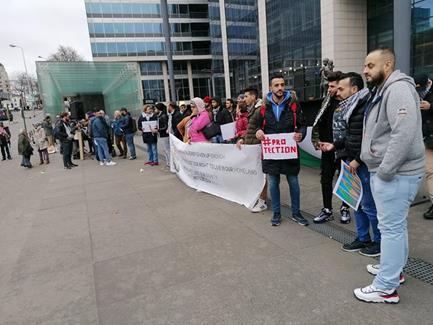 Les réfugiés palestiniens protestent : leurs demandes sont de plus en plus refusées