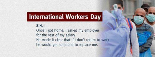 Journée Internationale des Travailleurs : le témoignage de S.H.