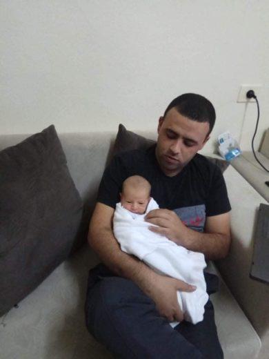 Salam et son bébé, Cana'an