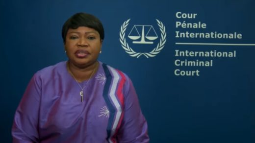 La procureure, Fatou Bensouda (screenshot youtube)