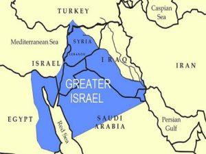 """Histoire de la Palestine : Herzl pour le """"Grand Israël"""", du Nil jusqu'à l'Euphrate"""