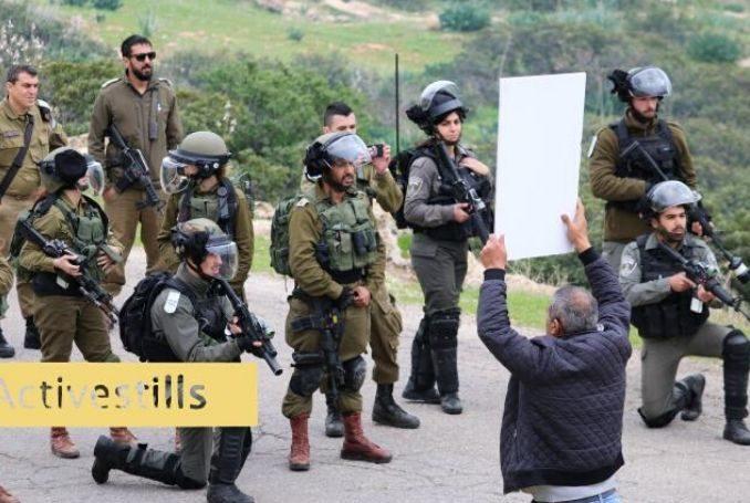Protestation contre l'annexion israélienne dans la vallée du Jourdain (Photo: via ActiveStills.org)
