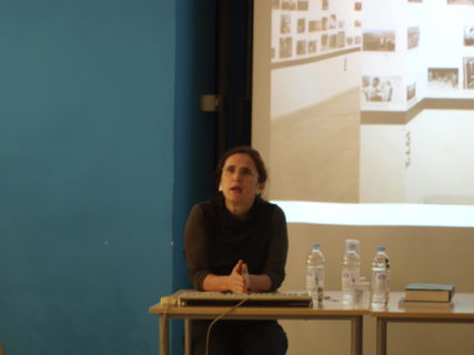 La conservatrice artistique et théoricienne de l'art de gauche Ariella Azoulay. (Photo : Tomislav Medak)