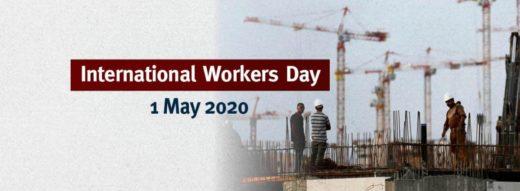 1er Mai 2020 : Journée Internationale des Travailleurs