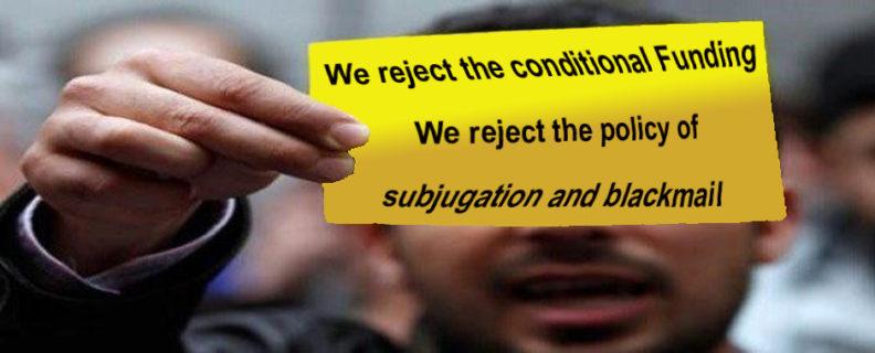 Badil refuse de signer la condition qui criminalise la lutte palestinienne