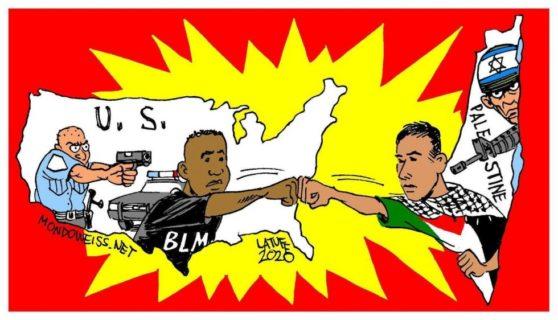 Solidarité entre le mouvement de Libération Noire et la Libération Palestinienne
