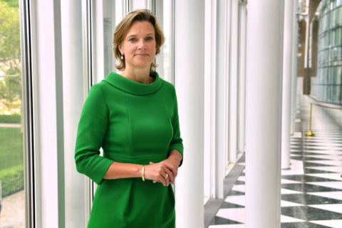 Katharina von Schnurbein, coordinatrice de l'Union européenne contre l'antisémitisme (Photo : Frank Hoermann - Sven Simon
