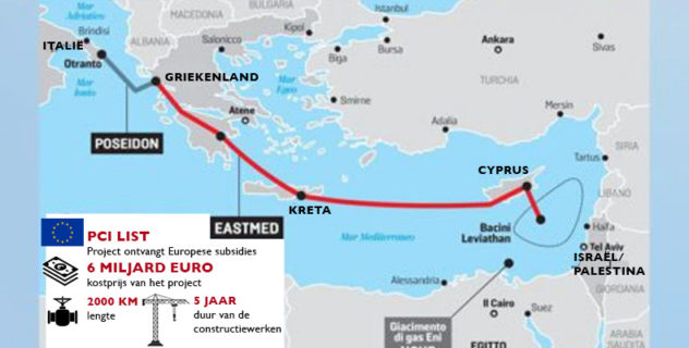 L'EastMed Pipeline : L'Europe hypothèque le « greendeal » et opte pour le gaz israélien controversé