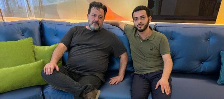 Manu Pineda et Mohammed Khatib