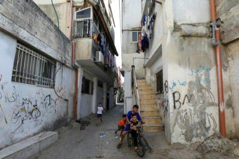 Au camp de réfugiés d'Al-Amari, en Cisjordanie occupée, plus de 8 000 personnes vivent sur moins d'un kilomètre carré. (Photo : AFP / Abbas Momani)