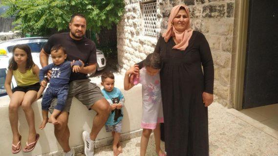 Le cas de la famille Sumarin pourrait être le plus récent dans les expulsions de Palestiniens de leur propriété. (Photo: David Shulman / Peace Now)