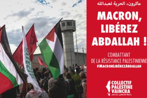 Twitterstorm : Macron, libérez Georges Abdallah