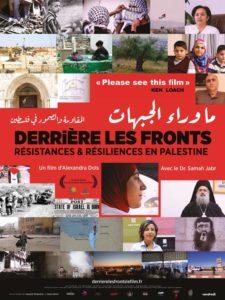 """Affiche du film """"Derrière les fronts"""""""