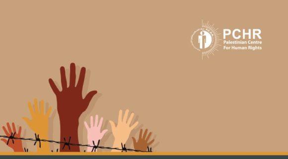 L rapport du Centre palestinien pour les droits de l'homme
