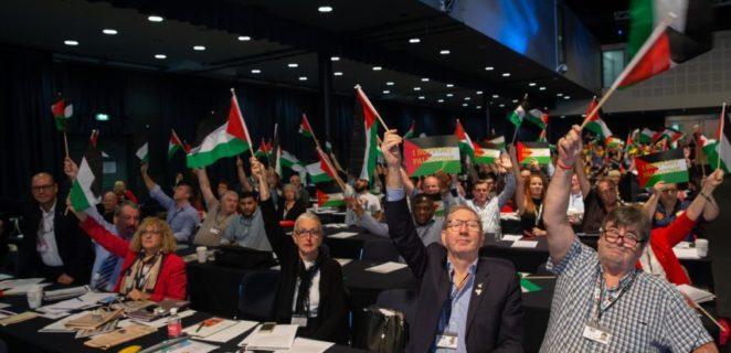 Les syndicats britanniques (TUC) s'engagent à défier l'apartheid israélien