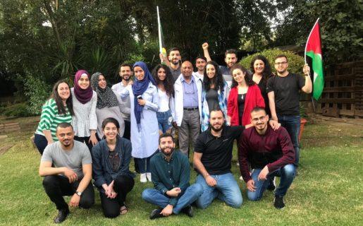 Une délégation du Palestinian Youth Movement en Afrique-du-Sud