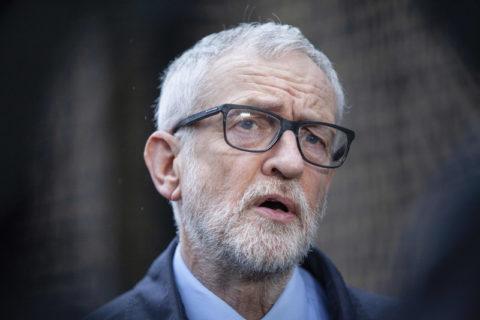 L'EHRC a accusé le bureau de l'ancien secrétaire du Labour, Jeremy Corbyn, d'« ingérence politique » dans des allégations d'antisémitisme. (Photo : Hollie Adams ZUMA Press)