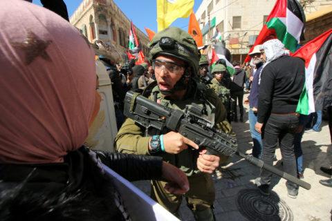 L'ONG Monitor attaque les associations palestiniennes des droits de l'homme afin de saper leur travail visant à mettre un terme à l'impunité israélienne. (Photo : Ahmad Al-Bazz ActiveStills)