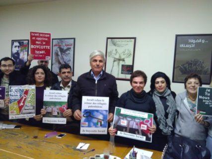 Rencontre avec la Campagne libanaise pour boycotter les partisans d'Israël