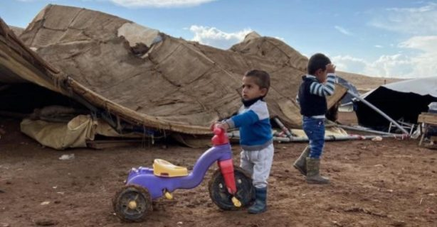 """Le 3 novembre, l'armée israélienne a détruit le village bédouin de Humsa al-Fuqa dans la vallée du Jourdain : l'annexion de fait se poursuit. La Belgique et l'UE """"s'inquitent"""", sont """"consternées"""", mais refusent d'agir."""