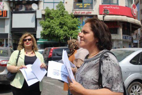 La féministe et dirigeante palestinienne emprisonnée Khitam Saafin