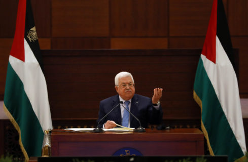 La reprise de la coordination entre l'Autorité palestinienne et Israël constitue la bienvenue adressée par la direction cisjordanienne au président américain nouvellement élu, Joe Biden. (Photo : Thaer Ganaim APA images)