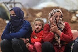 Novembre 2020. Les résidents de Khirbet Humsa dont les logements ont été détruits. (Photo: Meged Gozani)